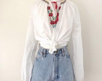 1980s High-Waisted Wrangler Denim Shorts