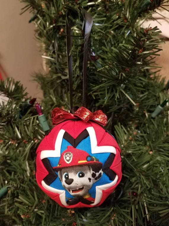 paw patrol quilted ornament paw patrol quilted ornament - Paw Patrol Christmas Decorations