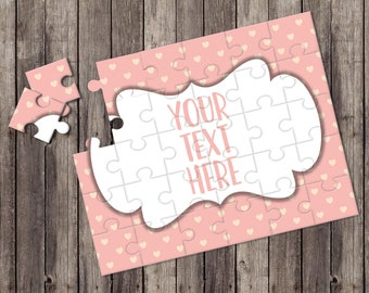 Create Your Own Puzzle - Pregnancy Announcement - Custom Puzzle - Personalized Puzzle - Announcement Ideas - Wedding Announcement - CYOP0199