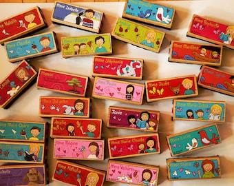 Brosse à tableau entièrement personnalisée, enfants, enseignants, cadeau, primaire