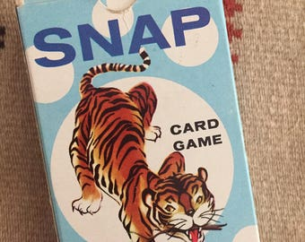 OH SNAP!!! - Vintage Whitman Snap Card Game