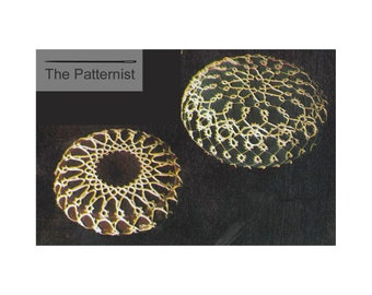 Vintage Tatting Pattern for Two Pincushions PDF Download SKU 114-5