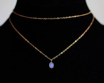 Lilac Double Tier Opal