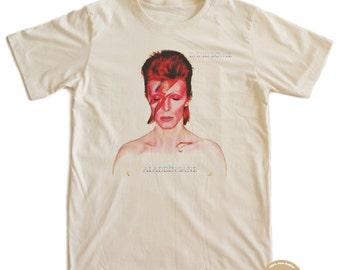 Bowie Punk T-shirt 100% Organic Cotton