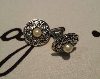 Antiquita clip on Earrings