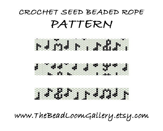 Bead Crochet Rope Pattern Vol. 33 The Symphony PDF File