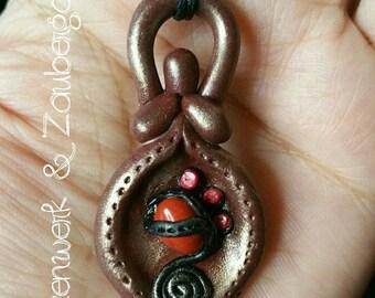 "Goddess Necklace ""Jaspis"""