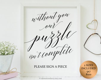 Wedding Puzzle Guest Book sign, Puzzle Guestbook Sign Jigsaw Puzzle Sign, Guest Book Puzzle Guest Book Ideas, Puzzle Wedding Guest book Sign