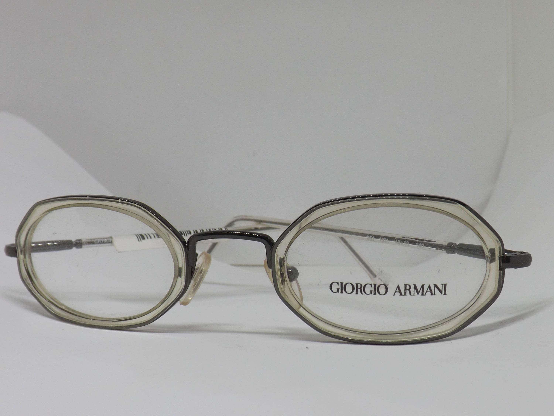 Giorgio Armani Brillen Rahmen Brillengestell in Italien die