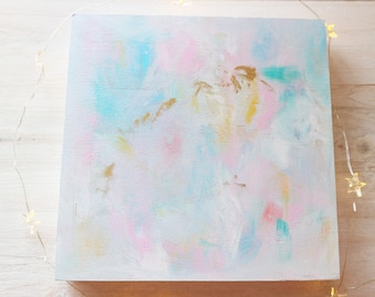 Unicorn Dreams Abstract Original Painting