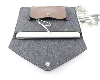 Gift felt 13 inch Macbook Air sleeve, Macbook sleeve 13, Macbook 13.3 Air case, Macbook Air case, Laptop sleeve 13, 13 inch Laptop case 053