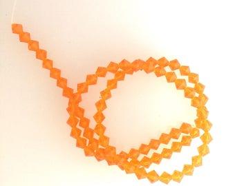Swarovski Orangek Bicone Crystals
