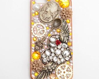 Steampunk vintage golden antique decoden iPhone 5/5S case