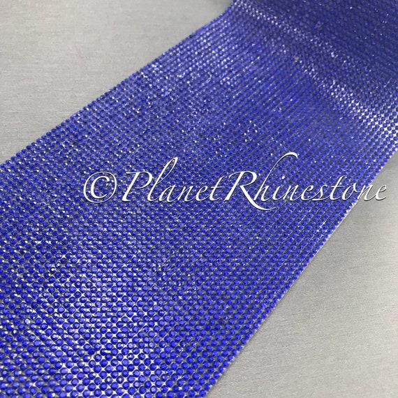 Royal Blue Iron-On Crystal Sheet #S004
