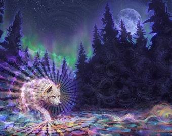 Spirit Wolf - Art Prints