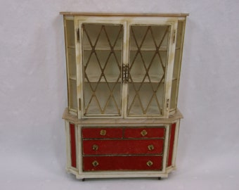 Vintage Petite Princess Treasure Trove Cabinet Ideal 4418-0 Model 300 - not perfect condition, sold as is.