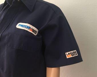 1990s Laguna Seca Men's Work Shirt
