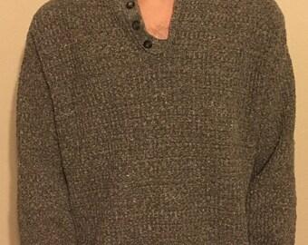 Vintage Oscar De La Renta knit pullover sweater
