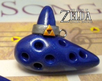Ocarina of Time Necklace - Legend of Zelda - Nintendo