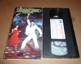 Saturday Night Fever VHS videotape TAPE