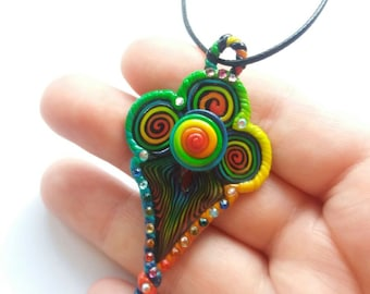 SALE! -Rainbow pendant- SALE!