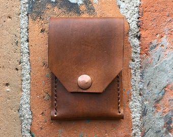 Rustic Leather Cardholder