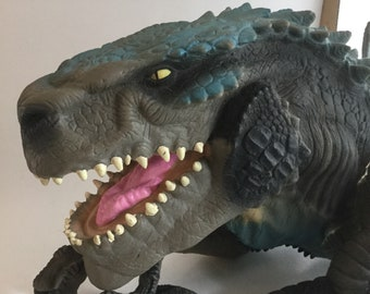 Vintage Godzilla Action Hand Puppet With Sound 1998 Toho Co Action Figure Interactive