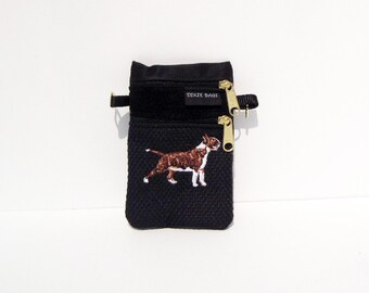 Colored Bull Terrier Dog Small Cell Phone Case