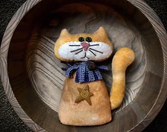 Wool Orange Kitty!