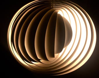 Iconic U0027The Moonu0027 Lamp By Worldfamous Verner Panton Manufactured By Louis  Poulsen   1