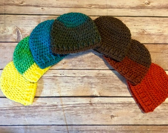 Thunder Bird Preemie Hats colorful Hats for baby boy!