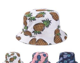 シ Sad Boys Yung Lean Vaporwave Pinapple Bucket Hat Brim Cap シ