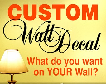 Get the Ball Rolling for a Custom Designed Wall Decal