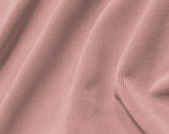 Pretty Pink - Velvet - Baby Colors - Upholstery Fabric - Soft - Designer Fabric - Washable Fabric - Bedding Fabric - Upscale - Princess