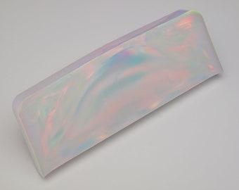 Aurora Opal - New Opal (64.39 g), Creamy White Opal , Rough Opal, Multicolored Opal for Opal Jewellery (Lab Created White Opal)