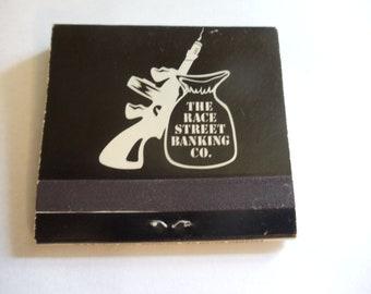 The Race Street Banking Co. Cincinnati, Ohio Matchbook (Unstruck)