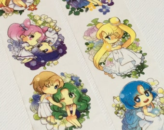 1 Roll of Limited Edition Washi Tape: Sailor Moon