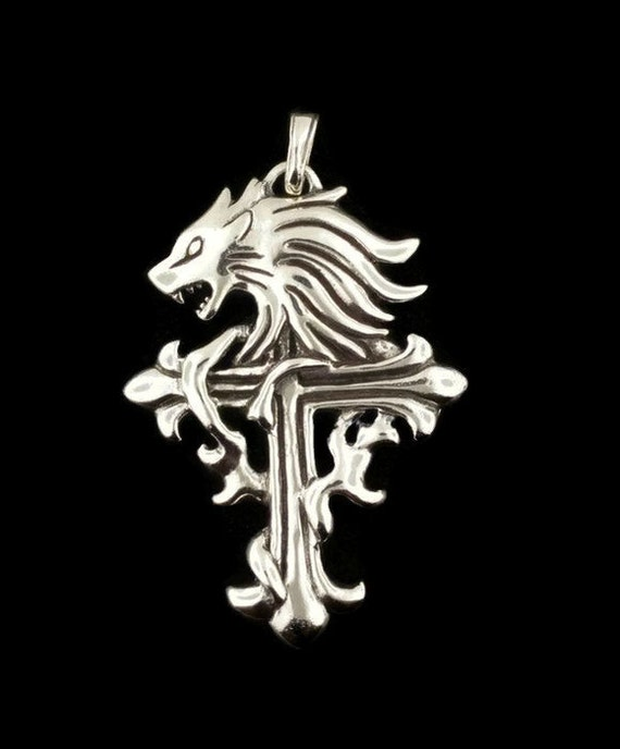 Squall leonhart pendant from final fantasy 8 in sterling squall leonhart pendant from final fantasy 8 in sterling silver mozeypictures Gallery