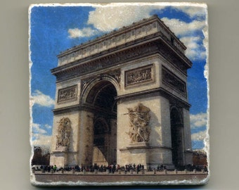 Arc de Triomphe in Paris, France -  Original Coaster