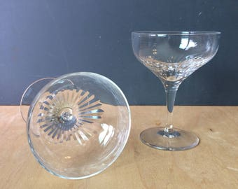 Lennox Crystal Champagne Glasses - Champagne Coupes
