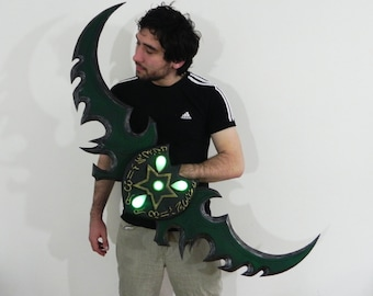 World of Warcraft Warglaive of Azzinoth cosplay prop
