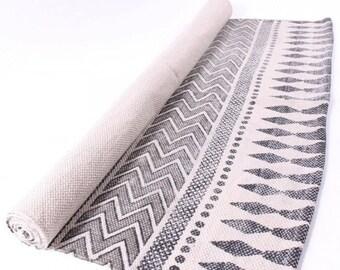 Rug carpet cotton Indian