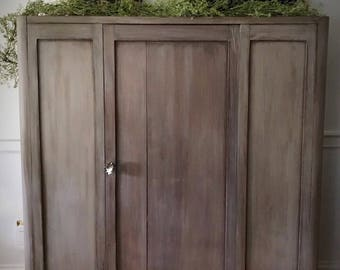 Superior SOLD Vintage Wood Cabinet, Vintage Armoire, Farmhouse Cabinet, Painted  Cabinet, Wood Pantry