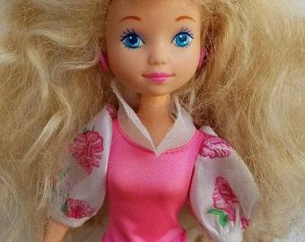 Vintage Peppermint Rose doll