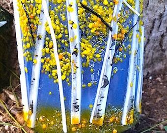 Aspen Fused Glass Night Light