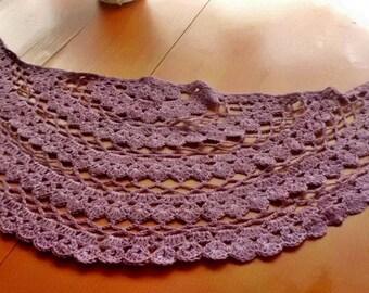 Crochet neck warmer - small shawl