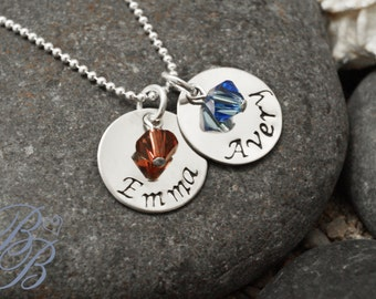 Personalized Jewelry - Mother's Jewelry - Hand Stamped Jewelry