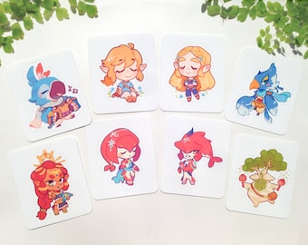 Legend of Zelda BOTW Stickers