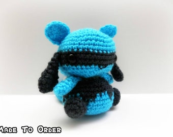 Crochet Riolu Inspired Chibi Pokemon