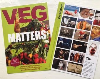 Veg Matters postcard pack